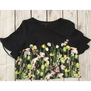 Victoria Beckham for Target plus size flowered top